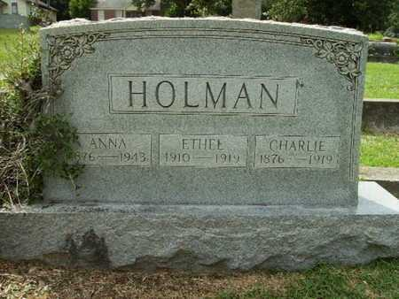HOLMAN, ANNA - Lincoln County, Louisiana | ANNA HOLMAN - Louisiana Gravestone Photos