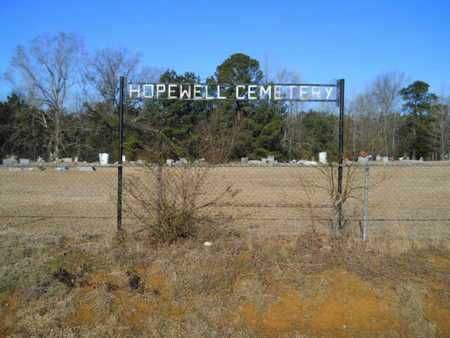 *HOPEWELL CEMETERY, (SIGN) - Lincoln County, Louisiana | (SIGN) *HOPEWELL CEMETERY - Louisiana Gravestone Photos