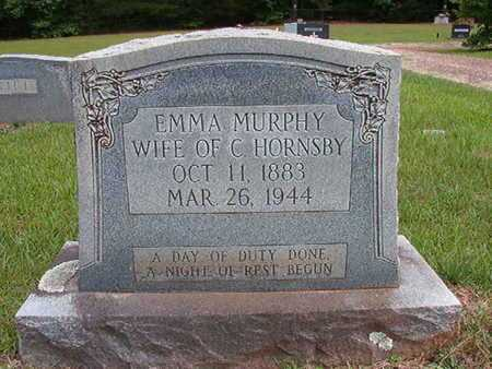 MURPHY HORNSBY, EMMA - Lincoln County, Louisiana | EMMA MURPHY HORNSBY - Louisiana Gravestone Photos