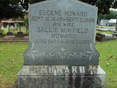 MAYFIELD HOWARD, SALLIE - Lincoln County, Louisiana | SALLIE MAYFIELD HOWARD - Louisiana Gravestone Photos