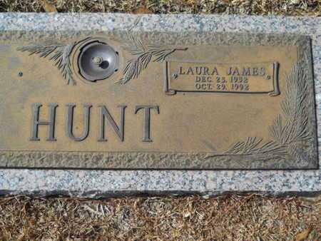 JAMES HUNT, LAURA - Lincoln County, Louisiana | LAURA JAMES HUNT - Louisiana Gravestone Photos
