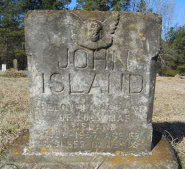 ISLAND, JOHN - Lincoln County, Louisiana | JOHN ISLAND - Louisiana Gravestone Photos