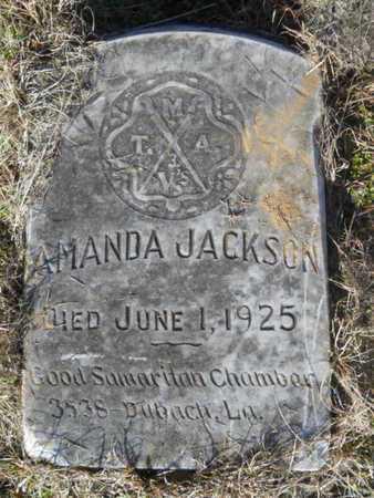 JACKSON, AMANDA - Lincoln County, Louisiana | AMANDA JACKSON - Louisiana Gravestone Photos