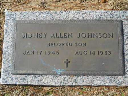 JOHNSON, SIDNEY ALLEN - Lincoln County, Louisiana | SIDNEY ALLEN JOHNSON - Louisiana Gravestone Photos