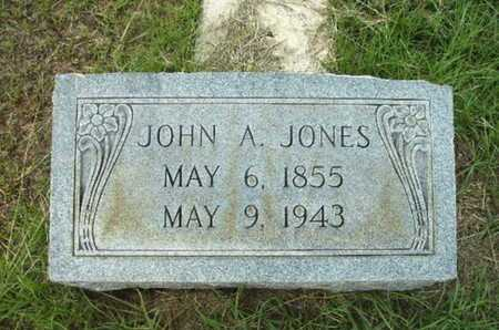 JONES, JOHN A - Lincoln County, Louisiana | JOHN A JONES - Louisiana Gravestone Photos