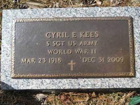 KEES, CYRIL E (VETERAN WWII) - Lincoln County, Louisiana | CYRIL E (VETERAN WWII) KEES - Louisiana Gravestone Photos