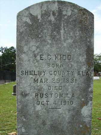 KIDD, E C - Lincoln County, Louisiana | E C KIDD - Louisiana Gravestone Photos