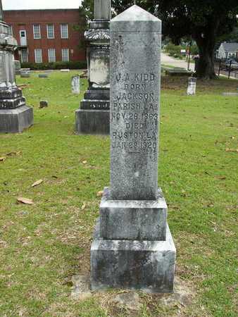 KIDD, JAMES ALVA - Lincoln County, Louisiana | JAMES ALVA KIDD - Louisiana Gravestone Photos