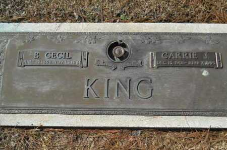KING, CARRIE J - Lincoln County, Louisiana | CARRIE J KING - Louisiana Gravestone Photos