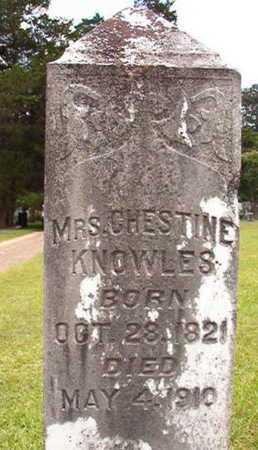 KNOWLES, CHESTINE - Lincoln County, Louisiana | CHESTINE KNOWLES - Louisiana Gravestone Photos