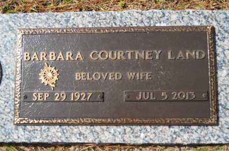 LAND, BARBARA COURTNEY - Lincoln County, Louisiana | BARBARA COURTNEY LAND - Louisiana Gravestone Photos