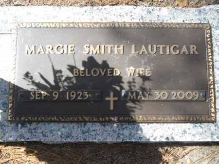 SMITH LAUTIGAR, MARGIE - Lincoln County, Louisiana | MARGIE SMITH LAUTIGAR - Louisiana Gravestone Photos