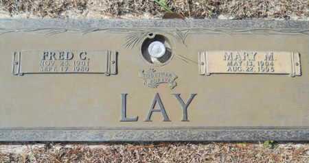 LAY, FRED C - Lincoln County, Louisiana | FRED C LAY - Louisiana Gravestone Photos