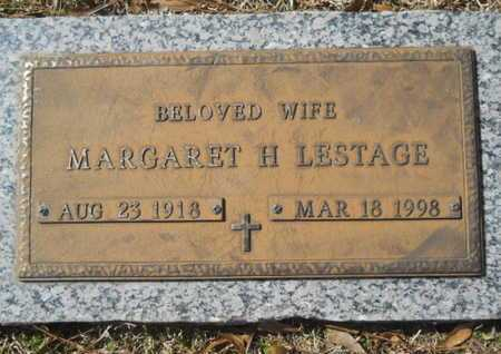 LESTAGE, MARGARET H - Lincoln County, Louisiana | MARGARET H LESTAGE - Louisiana Gravestone Photos