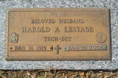 LESTAGE, HAROLD A (VETERAN) - Lincoln County, Louisiana | HAROLD A (VETERAN) LESTAGE - Louisiana Gravestone Photos