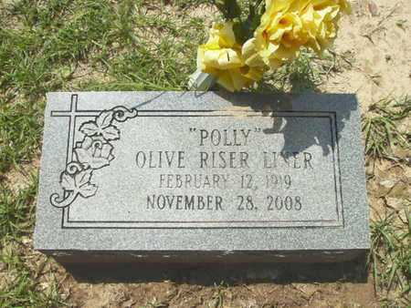 """LINER, OLIVER """"POLLY"""" - Lincoln County, Louisiana 