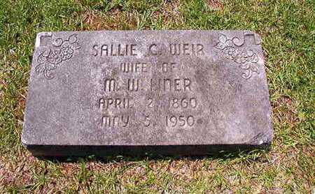 LINER, SALLIE C - Lincoln County, Louisiana | SALLIE C LINER - Louisiana Gravestone Photos
