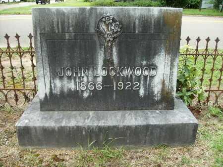 LOCKWOOD, JOHN - Lincoln County, Louisiana   JOHN LOCKWOOD - Louisiana Gravestone Photos