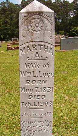 LOVE, MARTHA A - Lincoln County, Louisiana   MARTHA A LOVE - Louisiana Gravestone Photos