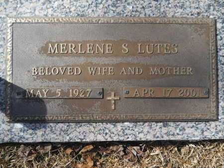 LUTES, MERLENE S - Lincoln County, Louisiana | MERLENE S LUTES - Louisiana Gravestone Photos