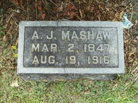 MASHAW, A J - Lincoln County, Louisiana | A J MASHAW - Louisiana Gravestone Photos