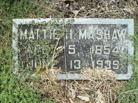 HICKS MASHAW, MATTIE - Lincoln County, Louisiana | MATTIE HICKS MASHAW - Louisiana Gravestone Photos