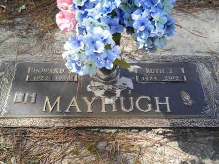 MAYHUGH, RUTH J - Lincoln County, Louisiana | RUTH J MAYHUGH - Louisiana Gravestone Photos