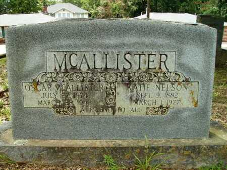 NELSON MCALLISTER, KATIE - Lincoln County, Louisiana | KATIE NELSON MCALLISTER - Louisiana Gravestone Photos