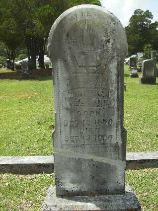 MCBRIDE, JOHN FRANK - Lincoln County, Louisiana | JOHN FRANK MCBRIDE - Louisiana Gravestone Photos