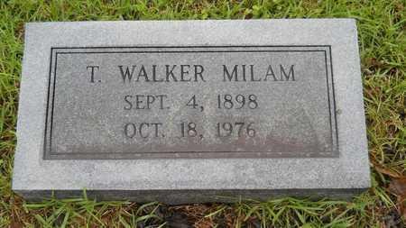 MILAM, T WALKER - Lincoln County, Louisiana | T WALKER MILAM - Louisiana Gravestone Photos