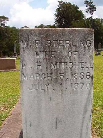 STERLING MITCHELL, MARY FRANCES - Lincoln County, Louisiana | MARY FRANCES STERLING MITCHELL - Louisiana Gravestone Photos