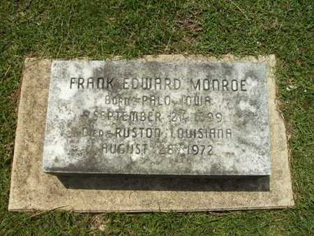 MONROE, FRANK EDWARD - Lincoln County, Louisiana | FRANK EDWARD MONROE - Louisiana Gravestone Photos