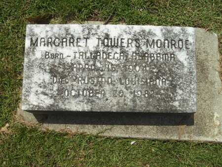 TOWERS MONROE, MARGARET - Lincoln County, Louisiana | MARGARET TOWERS MONROE - Louisiana Gravestone Photos