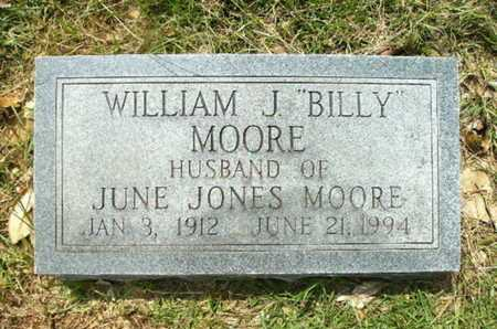 "MOORE, WILLIAM J ""BILLY"" - Lincoln County, Louisiana | WILLIAM J ""BILLY"" MOORE - Louisiana Gravestone Photos"