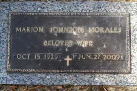 JOHNSON MORALES, MARION - Lincoln County, Louisiana | MARION JOHNSON MORALES - Louisiana Gravestone Photos