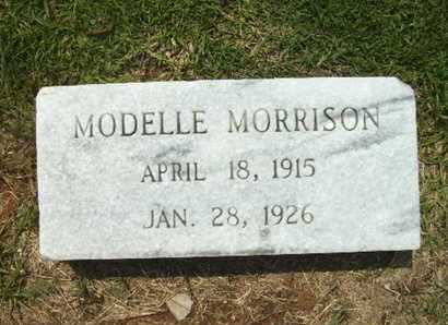 MORRISON, MODELLE - Lincoln County, Louisiana | MODELLE MORRISON - Louisiana Gravestone Photos