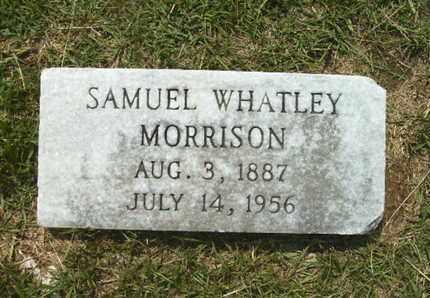 MORRISON, SAMUEL WHATLEY - Lincoln County, Louisiana   SAMUEL WHATLEY MORRISON - Louisiana Gravestone Photos
