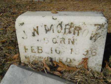 MORROW, JOHN WILLIE - Lincoln County, Louisiana   JOHN WILLIE MORROW - Louisiana Gravestone Photos