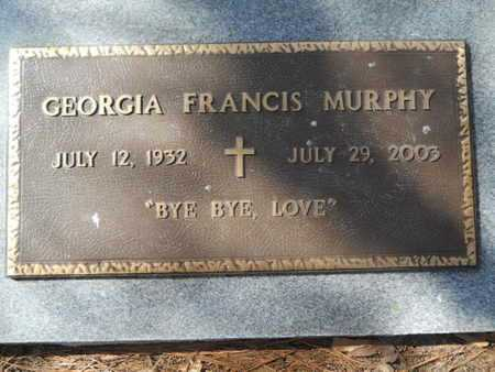 MURPHY, GEORGIA FRANCIS - Lincoln County, Louisiana   GEORGIA FRANCIS MURPHY - Louisiana Gravestone Photos