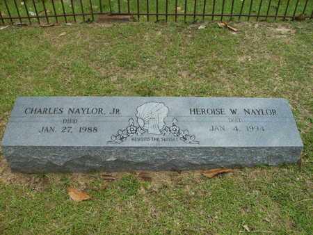 NAYLOR, CHARLES, JR - Lincoln County, Louisiana | CHARLES, JR NAYLOR - Louisiana Gravestone Photos