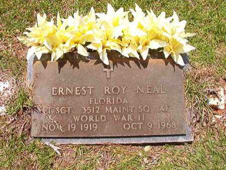 NEAL, ERNEST ROY (VETERAN WWII) - Lincoln County, Louisiana | ERNEST ROY (VETERAN WWII) NEAL - Louisiana Gravestone Photos