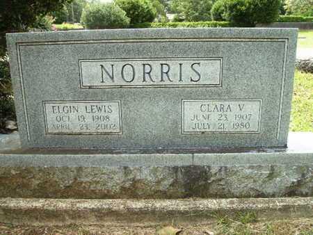 NORRIS, ELGIN LEWIS - Lincoln County, Louisiana   ELGIN LEWIS NORRIS - Louisiana Gravestone Photos