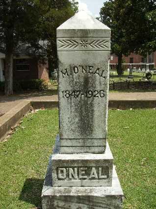 O'NEAL, M - Lincoln County, Louisiana | M O'NEAL - Louisiana Gravestone Photos