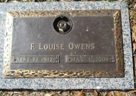 OWENS, F LOUISE - Lincoln County, Louisiana   F LOUISE OWENS - Louisiana Gravestone Photos