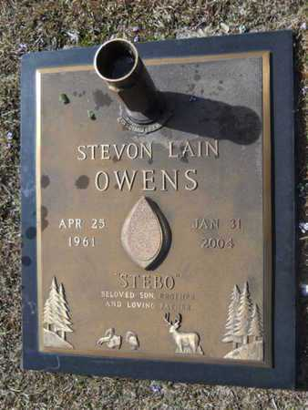 OWENS, STEVON LAIN - Lincoln County, Louisiana | STEVON LAIN OWENS - Louisiana Gravestone Photos