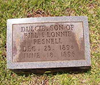 PESNELL, DULCIE - Lincoln County, Louisiana   DULCIE PESNELL - Louisiana Gravestone Photos