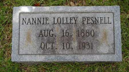 PESNELL, NANNIE - Lincoln County, Louisiana | NANNIE PESNELL - Louisiana Gravestone Photos