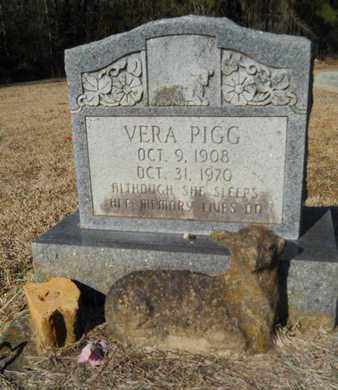 PIGG, VERA - Lincoln County, Louisiana   VERA PIGG - Louisiana Gravestone Photos