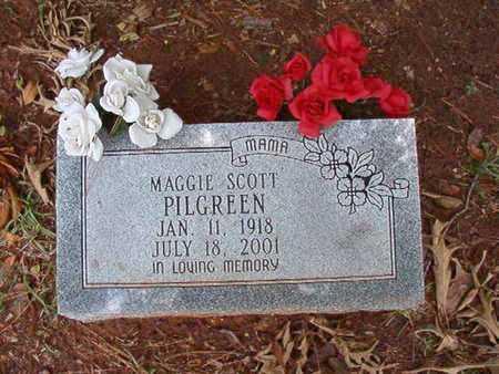 PILGREEN, MAGGIE - Lincoln County, Louisiana | MAGGIE PILGREEN - Louisiana Gravestone Photos