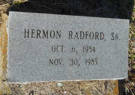 RADFORD, HERMON, SR - Lincoln County, Louisiana | HERMON, SR RADFORD - Louisiana Gravestone Photos